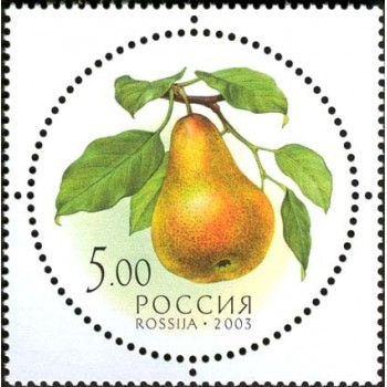 Aromatized stamp. Pear