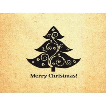 Merry Christmas #1 (d=40 mm)