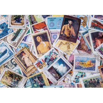 Old stamps of the USSR
