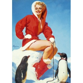 Pin Up. Penguins.